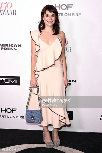 Sophia Amoruso attends the Harper's Bazaar Celebrates 150 Most Fashionable Women Arrivals at Sunset Tower on January 27 2017 in West Hollywood...