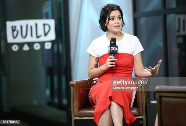 Sophia Amoruso discusses GirlBoss Media GirlBoss Radio at Build Studio on November 8 2017 in New York City