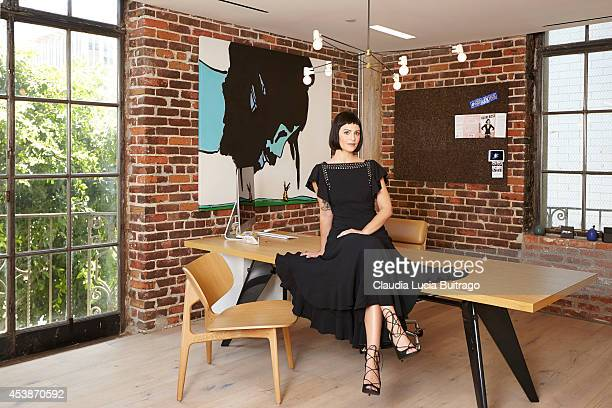 Sophia Amoruso for The Hollywood Reporter on May 1 2014 in Los Angeles California ON DOMESTIC EMBARGO UNTIL AUGUST 28 2014 ON INTERNATIONAL EMBARGO...