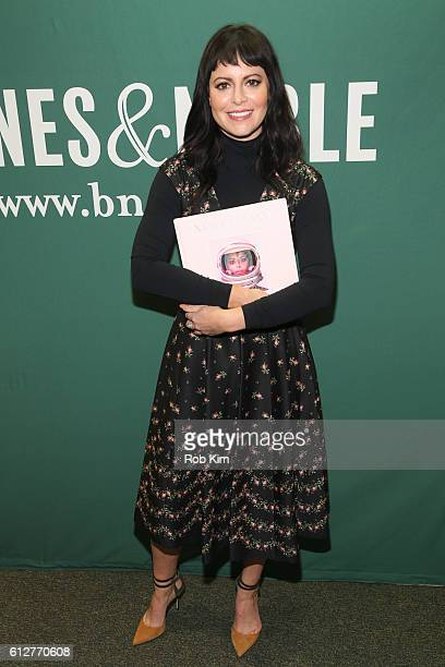 Sophia Amoruso promotes her new book 'Nasty Galaxy' at Barnes Noble Union Square on October 4 2016 in New York City