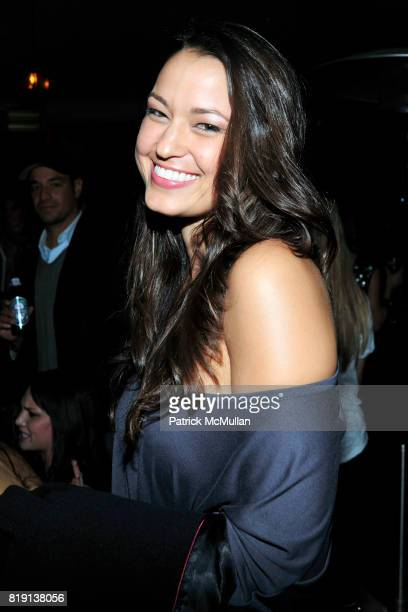 Sophia Blizard attend NICOLAS BERGGRUEN's 2010 Annual Party at the Chateau Marmont on March 3 2010 in West Hollywood California
