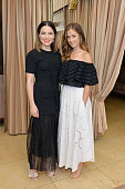 Sophia Bush and Minka Kelly attend Glamour and Facebook Host Power Players In Hollywood Politics Lunch at Sunset Tower in West Hollywood at Sunset...