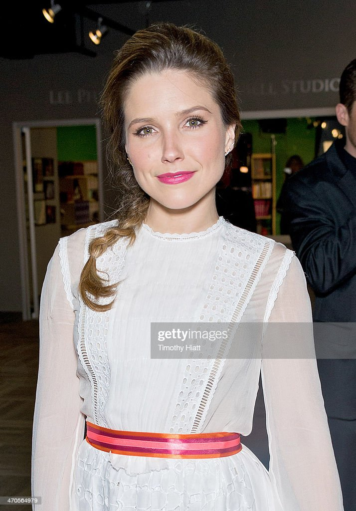 Sophia Bush appears in advance of a panel discussion at the Museum of Broadcast Communications in Chicago, IL on February 19, 2014