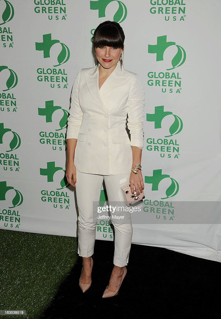<a gi-track='captionPersonalityLinkClicked' href=/galleries/search?phrase=Sophia+Bush&family=editorial&specificpeople=203180 ng-click='$event.stopPropagation()'>Sophia Bush</a> arrives at Global Green USA's 10th Annual Pre-Oscar party at Avalon on February 20, 2013 in Hollywood, California.