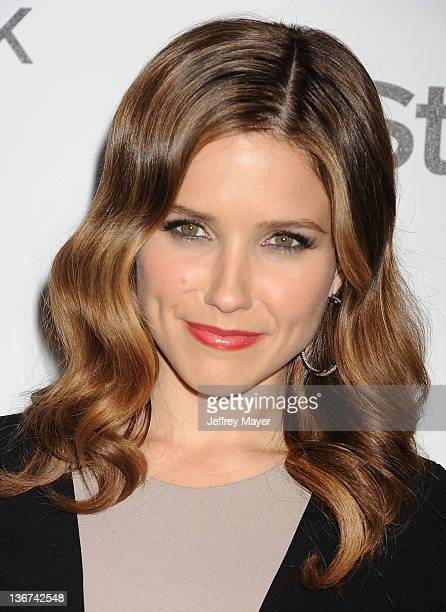 Sophia Bush arrives at the Forevermark And InStyle Golden Globes Event at Beverly Hills Hotel on January 10 2012 in Beverly Hills California