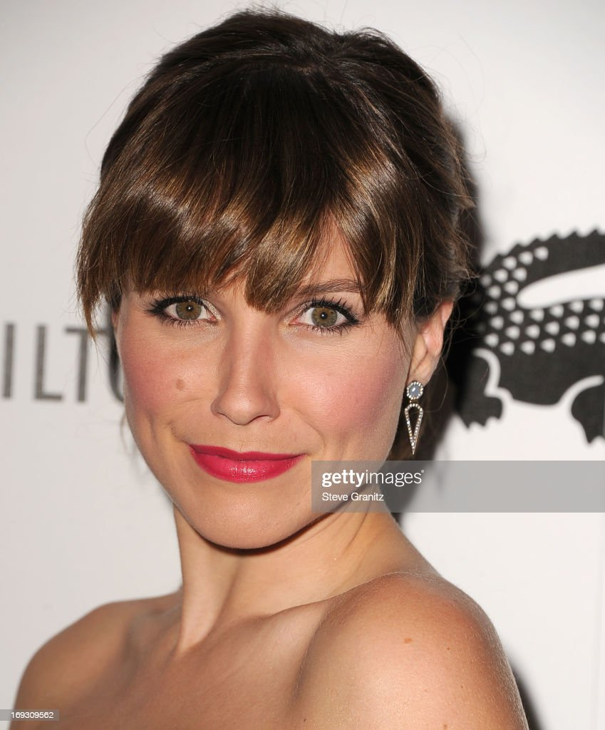 Sophia Bush arrives at the The Beverly Hilton Unveils Redesigned Aqua Star Pool By Estee Stanley at The Beverly Hilton Hotel on May 22, 2013 in Beverly Hills, California.