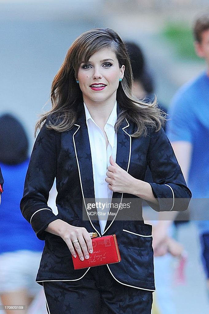 Sophia Bush as seen on June 19, 2013 in New York City.
