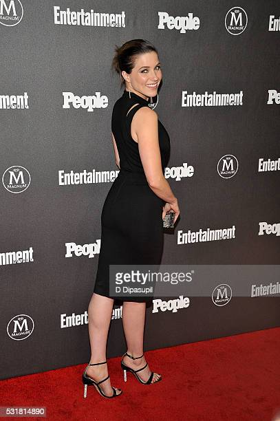 Sophia Bush attends the Entertainment Weekly and People New York Upfronts Celebration at Cedar Lake on May 16 2016 in New York City