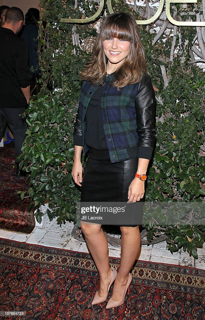 Sophia Bush is seen on December 6, 2012 in Los Angeles, California.