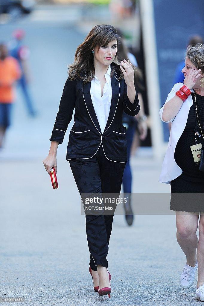Sophia Bush is seen on June 19, 2013 in New York City.