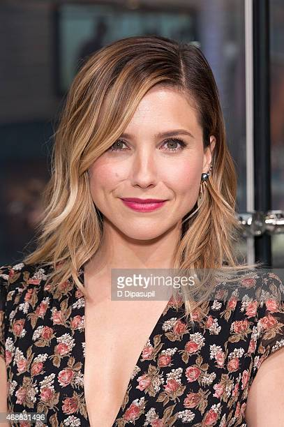 Sophia Bush visits 'Extra' at their New York studios at HM in Times Square on April 7 2015 in New York City
