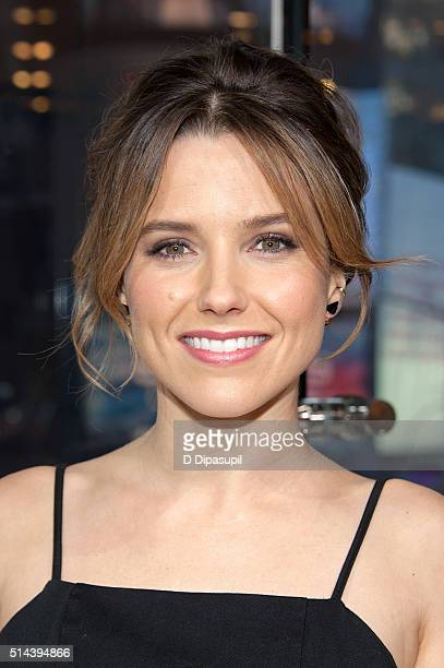Sophia Bush visits 'Extra' at their New York studios at HM in Times Square on March 8 2016 in New York City