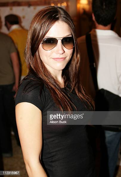 Sophia Buxh at Ray Ban during Luxottica Luxury Eyewear Suite at the HBO Luxury Lounge Day 1 at The Peninsula Hotel in Beverly Hills California United...