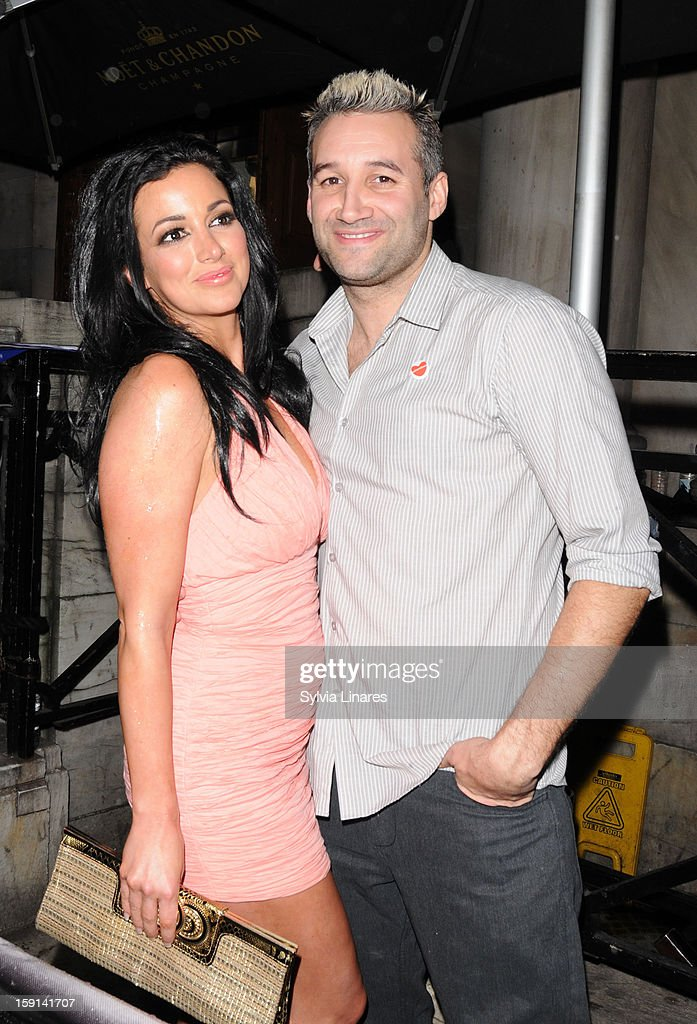 Sophia Cahill and <a gi-track='captionPersonalityLinkClicked' href=/galleries/search?phrase=Dane+Bowers&family=editorial&specificpeople=239185 ng-click='$event.stopPropagation()'>Dane Bowers</a> sighting on January 8, 2013 in London, England.