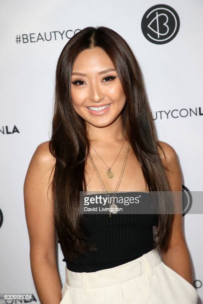 Sophia Chang attends Day 1 of the 5th Annual Beautycon Festival Los Angeles at the Los Angeles Convention Center on August 12 2017 in Los Angeles...