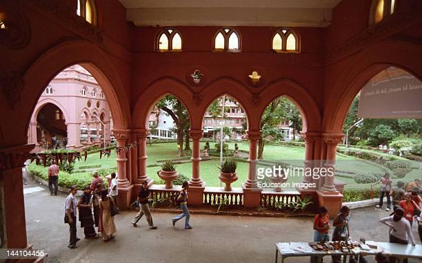 Sophia College Building In Bombay Now Mumbai Maharashtra India