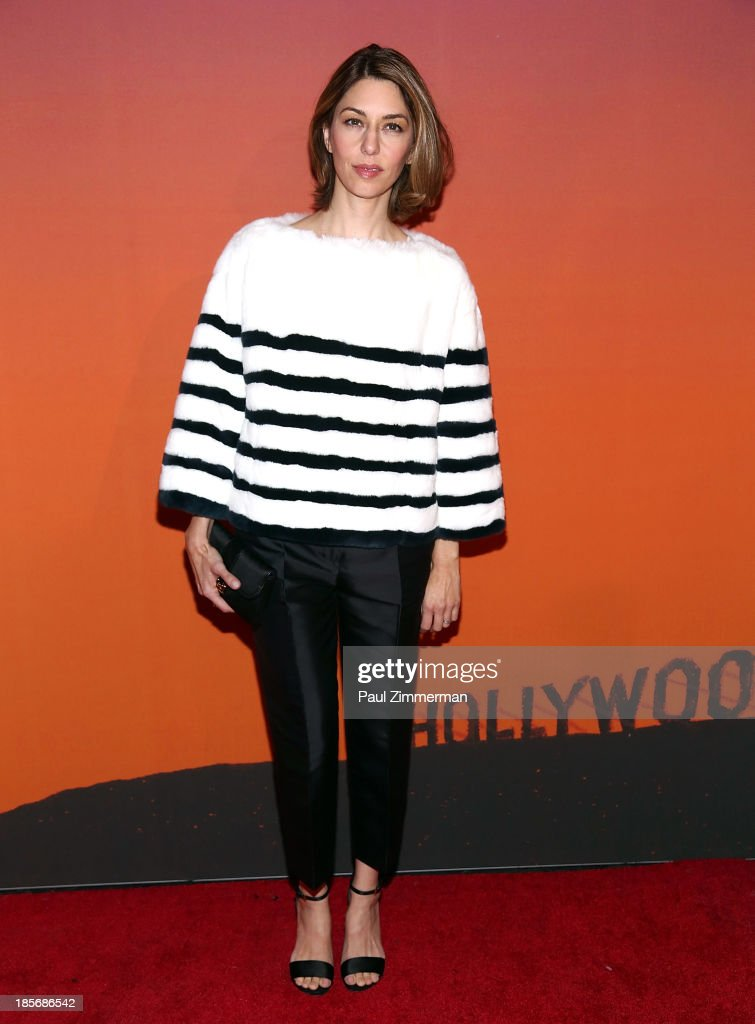 Sophia Coppola arrives at the 2013 Whitney Gala and Studio Party at Skylight at Moynihan Station on October 23, 2013 in New York City.