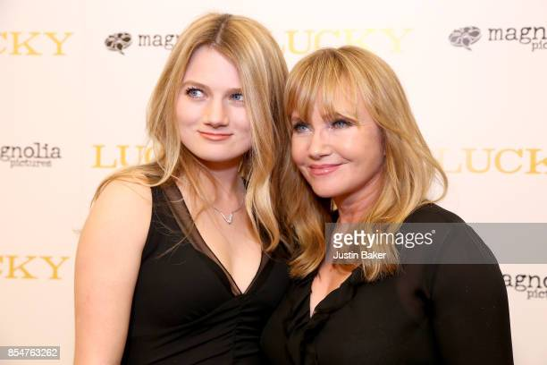 Sophia De MornayO'Neal and Rebecca De Mornay attend the Premiere Of Magnolia Pictures' 'Lucky' at Linwood Dunn Theater on September 26 2017 in Los...