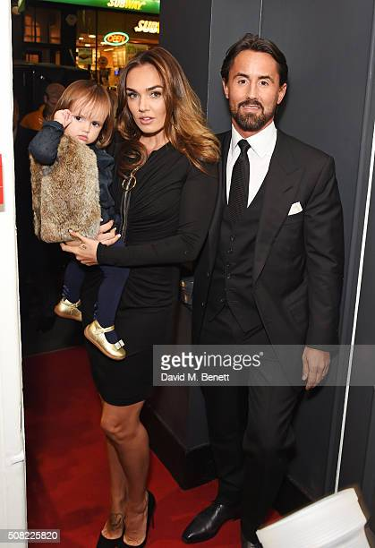 Sophia EcclestoneRutland Tamara Ecclestone and Jay Rutland attend a private view of 'Decadence' the new exhibition by American photographer Tyler...