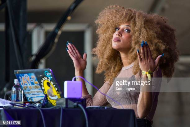 Sophia Eris of Lizzo performs during Day 2 of Music Midtown at Piedmont Park on September 17 2017 in Atlanta Georgia