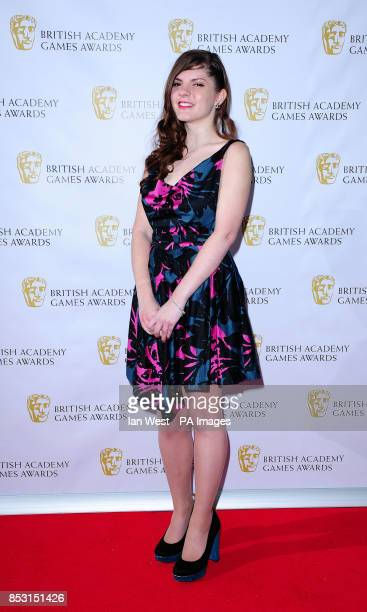 Sophia George attending the British Academy Games Awards at Tobacco Dock London