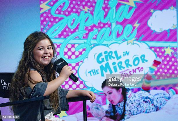 Sophia Grace attends the AOL Build Speaker SeriesSophia Grace 'A Girl in the Mirror' at AOL Studios In New York on June 21 2016 in New York City