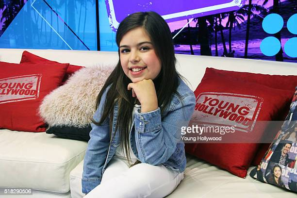 Sophia Grace visits the Young Hollywood Studio on March 30 2016 in Los Angeles California