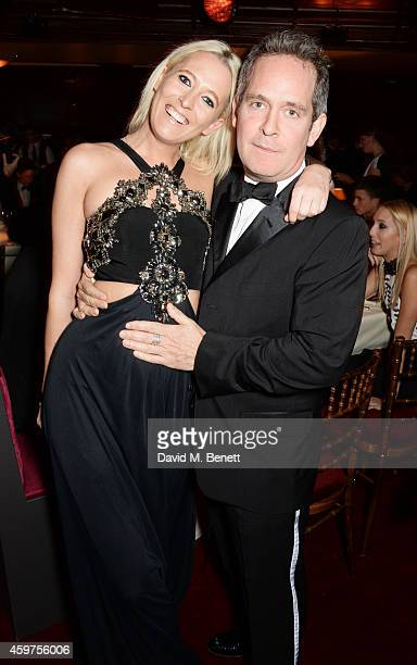 Sophia Hesketh and Tom Hollander attend the 60th London Evening Standard Theatre Awards at the London Palladium on November 30 2014 in London England