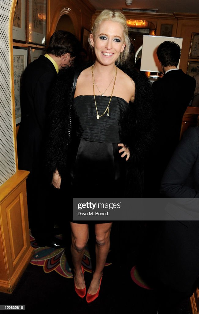 Sophia Hesketh attends the launch of Bryan Ferry's new album 'The Jazz Age' at Annabels on November 22, 2012 in London, England.
