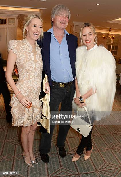Sophia Hesketh Bunter Worcester and Elisabeth von Thurn und Taxis attend the launch of 'Mrs Alice In Her Palace' hosted by Alice Naylor Leyland at...