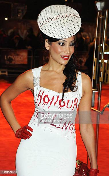 Sophia Hyatt arrives at the Charity Royal Film Performance of 'The Lovely Bones' at Odeon Leicester Square on November 24 2009 in London England