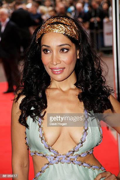 Sophia Hyatt attends the UK premiere of 'Last Chance Harvey' at the Odeon West End on June 3 2009 in London England