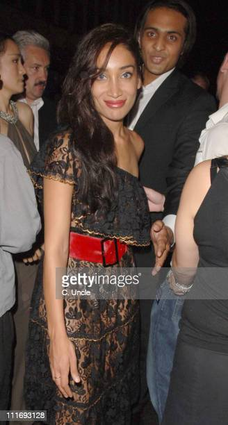 Sophia Hyatt during 'Miami Vice' London Premiere After Party at Sanderson Hotel in London Great Britain