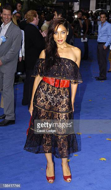 Sophia Hyatt during 'Miami Vice' London Premiere Outside Arrivals at Odeon Leicester Square in London Great Britain