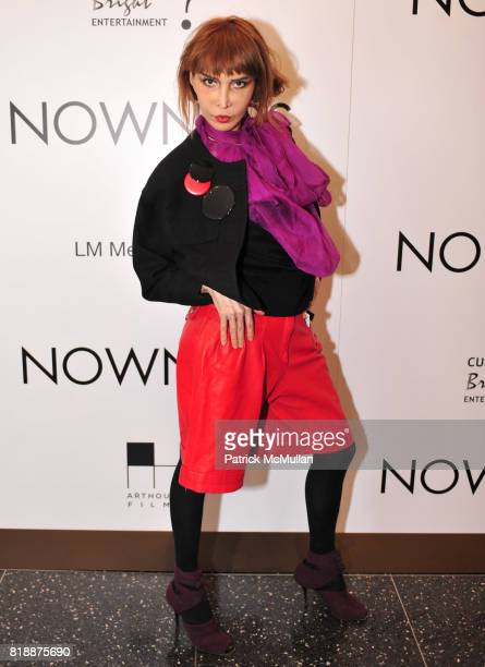 Sophia Lamar attends NOWNESS Presents the New York Premiere of JeanMichel Basquiat The Radiant Child at MoMa on April 27 2010 in New York City