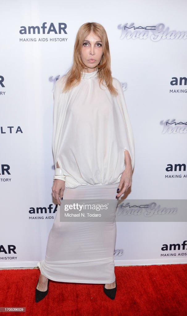 Sophia Lamar attends the 4th Annual amfAR Inspiration Gala New York at The Plaza Hotel on June 13, 2013 in New York City.