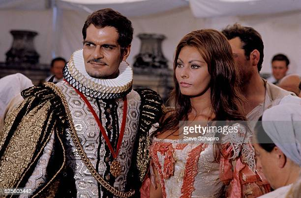 Sophia Loren and Omar Sharif in More Than a Miracle