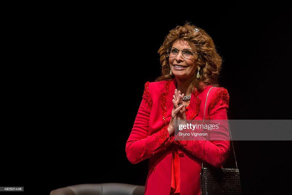 Tribute To Sophia Loren - 7th Lumiere Film Festival In Lyon