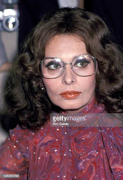 Sophia Loren during Sophia Loren Presents New Perfume 'Sophia' September 25 1980 at Lord Taylor in New York City New York United States