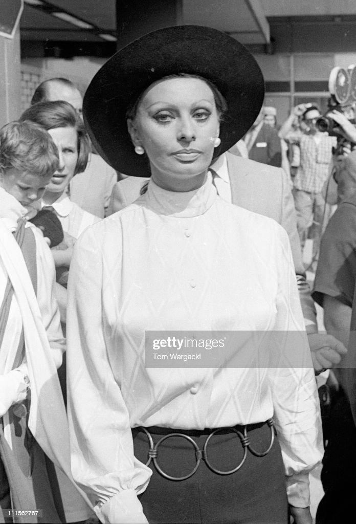 <a gi-track='captionPersonalityLinkClicked' href=/galleries/search?phrase=Sophia+Loren&family=editorial&specificpeople=94097 ng-click='$event.stopPropagation()'>Sophia Loren</a> during <a gi-track='captionPersonalityLinkClicked' href=/galleries/search?phrase=Sophia+Loren&family=editorial&specificpeople=94097 ng-click='$event.stopPropagation()'>Sophia Loren</a> Sighting at JFK Airport - May 17, 1971 at JFK Airport in New York City, United States.