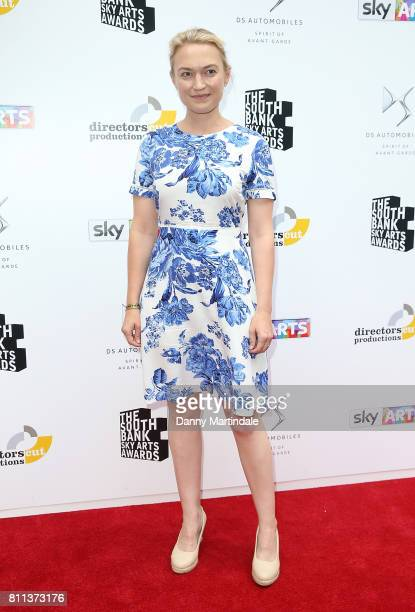 Sophia Myles attending The Southbank Sky Arts Awards 2017 at The Savoy Hotel on July 9 2017 in London England