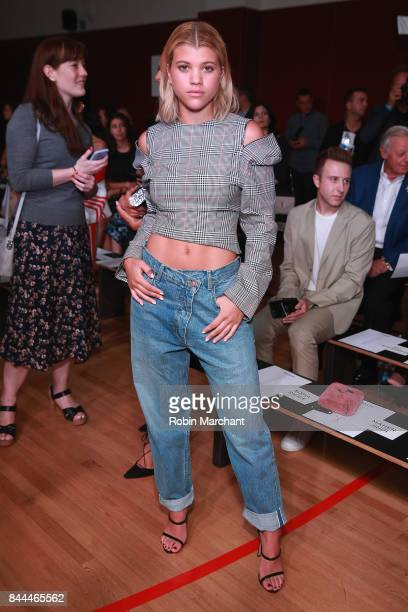 Sophia Richie attends the Monse fashion show during New York Fashion Week The Shows on September 8 2017 in New York City