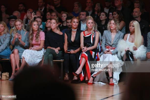Sophia Richie Kate Bosworth Harley VieraNewton Princess Olympia of Greece Paris Hilton Nicky Hilton Rothschild Jaime King and Nicki Minaj attend the...