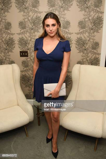 Sophia Rose Stallone attends Glenda Bailey's Book Launch Celebration at Eric Buterbaugh Los Angeles on June 8 2017 in Los Angeles California
