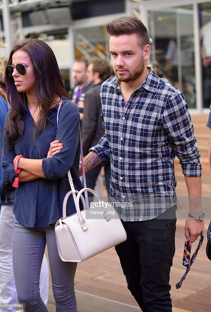 Sophia Smith and Liam Payne attend the Infiniti Red Bull Racing Energy Station at Monte Carlo on May 23 2015 in Monaco Monaco