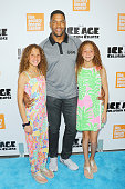Sophia Strahan TV personality Michael Strahan and Isabella Strahan attend the 'Ice Age Collision Course' New York screening at Walter Reade Theater...
