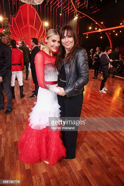 Sophia Thomalla and Simone Thomalla attend the 'Let's Dance Let's Christmas' Show on December 20 2013 in Cologne Germany