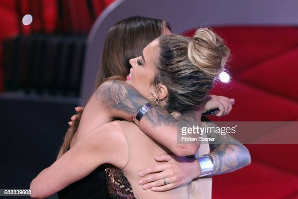 Sophia Thomalla and Sylvie Meis during the 10th show of the tenth season of the television competition 'Let's Dance' on May 26 2017 in Cologne Germany
