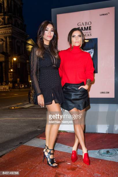 Sophia Thomalla and Verona Pooth attend the 'Gabo Fame' Exhibition Opening at HumboldBox on September 9 2017 in Berlin Germany