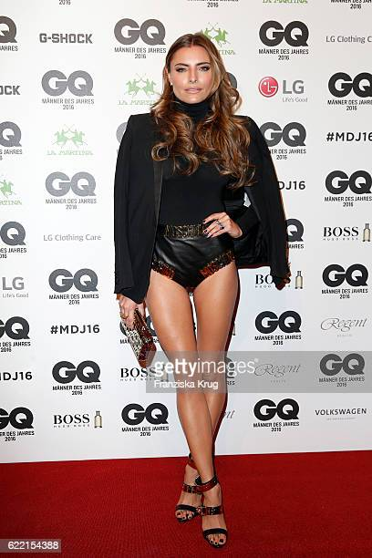 Sophia Thomalla arrives at the GQ Men of the year Award 2016 at Komische Oper on November 10 2016 in Berlin Germany